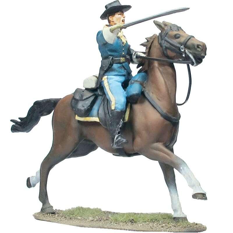 Oficial del 7º de caballería