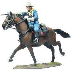 Us cavalry with sabre