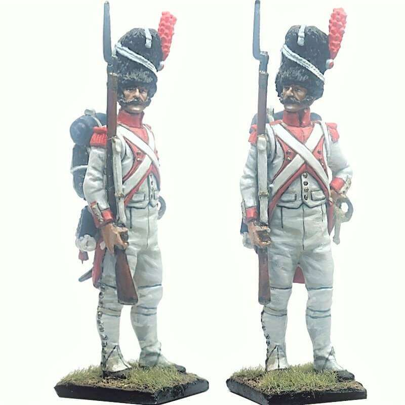 French imperal guard 3rd grenadiers regiment exhollandais at rest