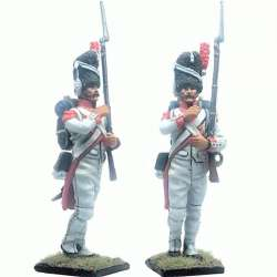 French imperal guard 3rd grenadiers regiment exhollandais marching 1