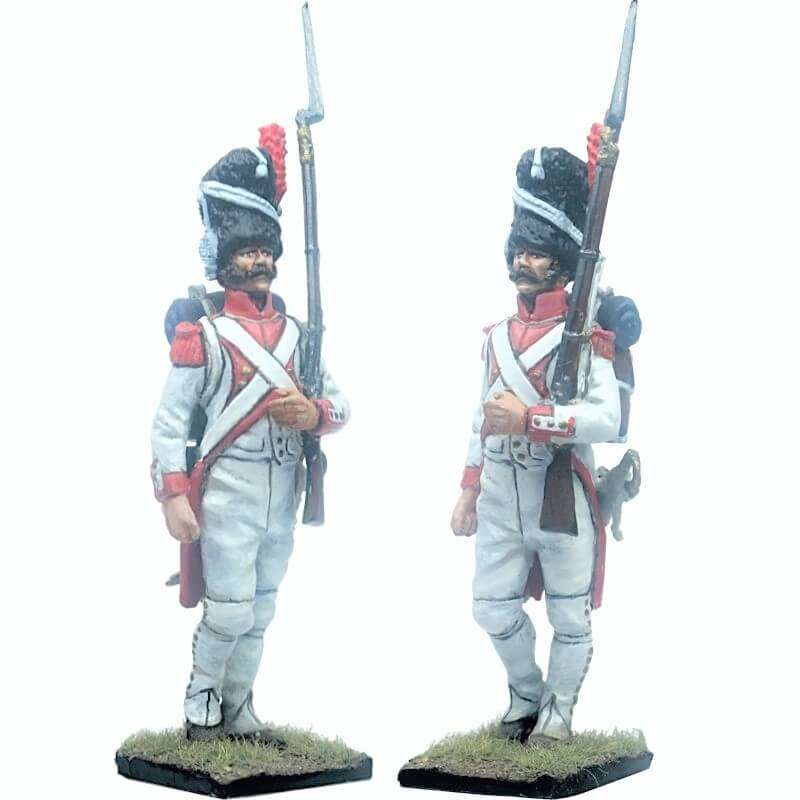 French imperal guard 3rd grenadiers regiment exhollandais marching 2