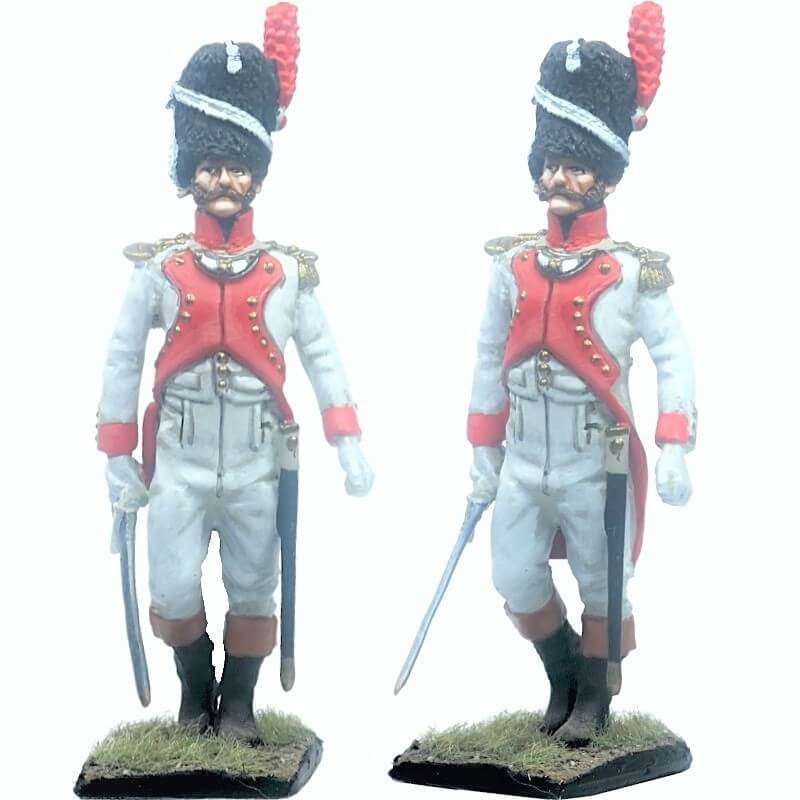 French imperal guard 3rd grenadiers regiment exhollandais officer 1