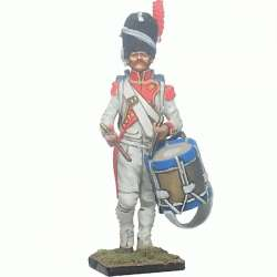 French imperal guard 3rd grenadiers regiment exhollandais drummer