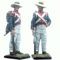 13 th Demi-brigade polish legion Saint-Domingue 1802 at rest
