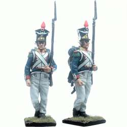 11th polish infantry regiment voltigeur marching