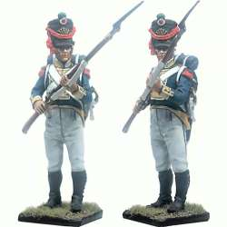 NP 233 Imperial guard grenadiers drummer waterloo