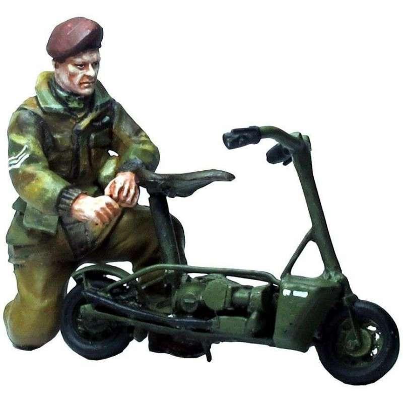 Paracaidista británicio Welbike
