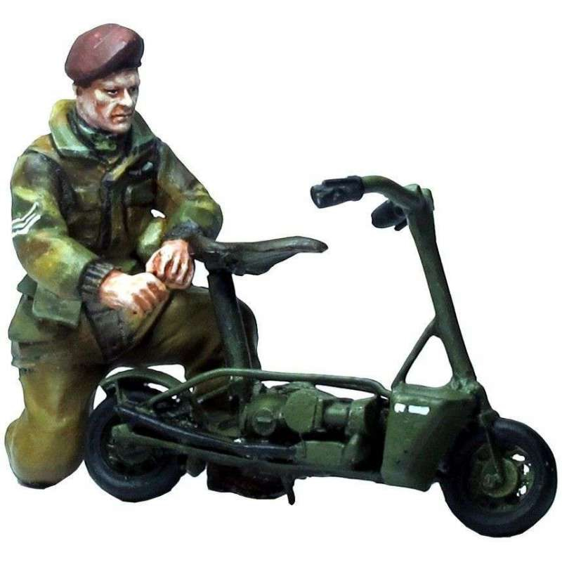WW 182 Paracaidista británicio con Welbike
