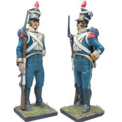 NP 242 FRENCH IMP GUARD GRENAD FLAG BEARER