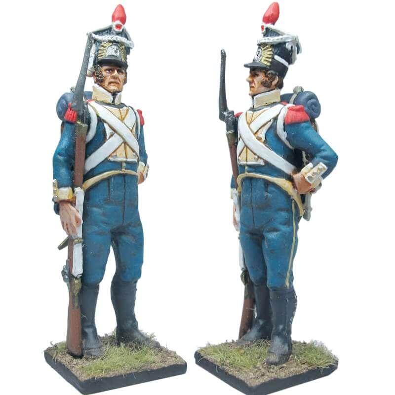 Granadero legión Vístula uniforme inverno