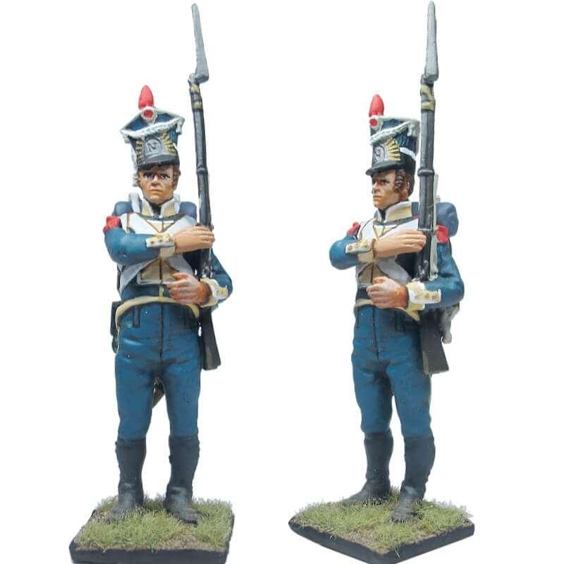 Granadero legión Vístula uniforme inverno 2
