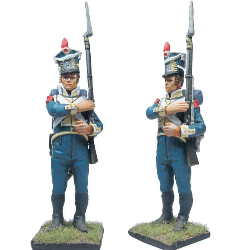 NP 244 FRENCH IMP GUARD GREND DRUMMER FULL DRESS