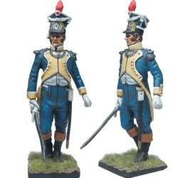 Granadero legión Vístula uniforme inverno oficial