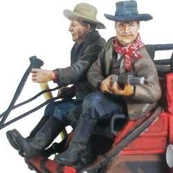 Coachman & escort