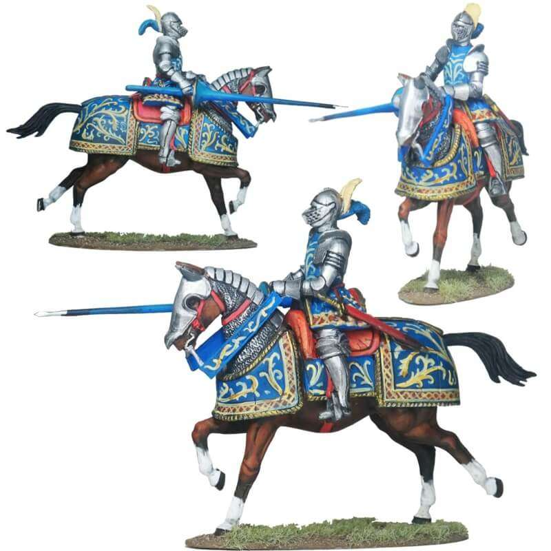 Gendarme francés 1 Pavía 1525