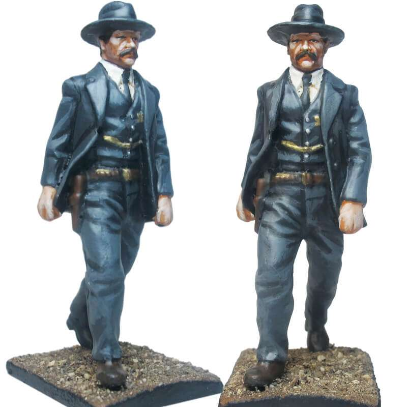 Virgil Earp toy soldier