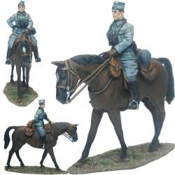 Blue Division mounted officer