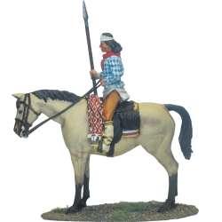 Guerrero apache lanza