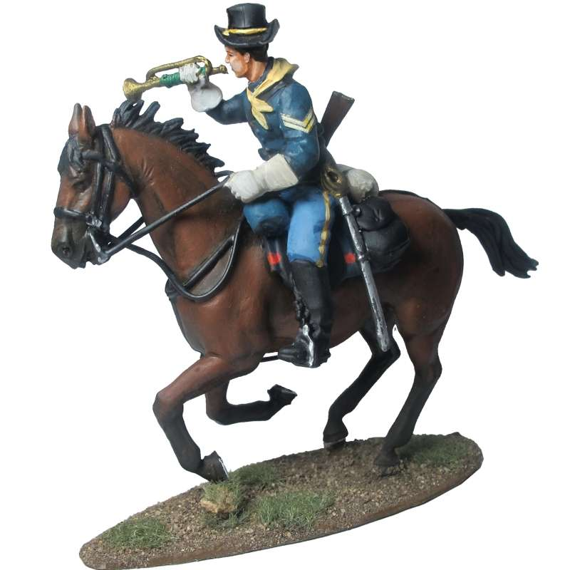 7th Cavalry trumpeteer