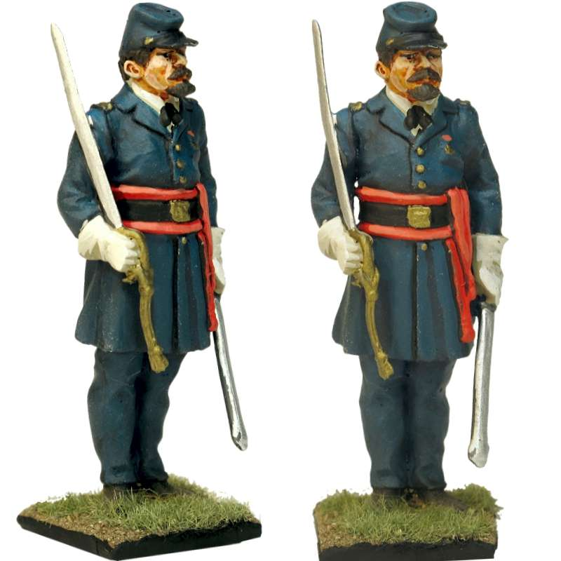 NP 337 FRENCH LINE INFANTRY GRENADIER 1815 ADVANCING 3