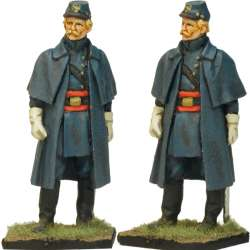 NP 338 FRENCH LINE INFANTRY GRENADIER 1815 KNEELING