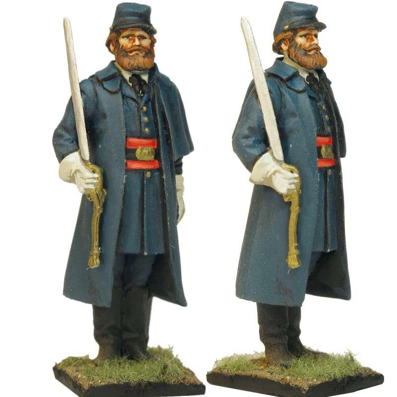 20 th Regimiento infantería Maine Fredericksburg Oficial 2