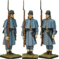 NP 343 FRENCH LIGHT INFANTRY 1815 ADVANCING 2
