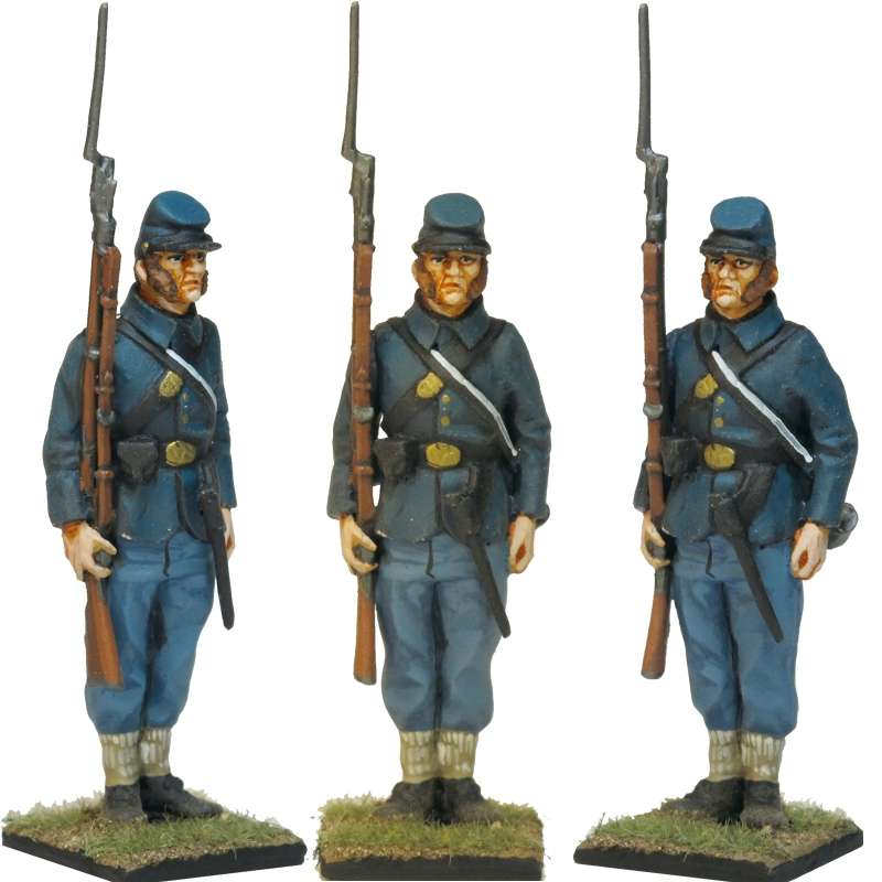 NP 344 FRENCH LIGHT INFANTRY 1815 FIRING ADVANCING