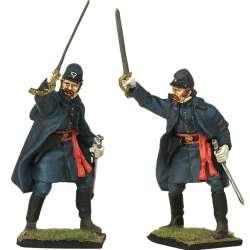 28 th Regimiento infantería Massachusetts Fredericksburg Oficial