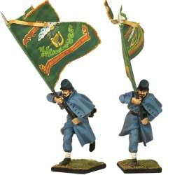 Irish brigade Standard bearer
