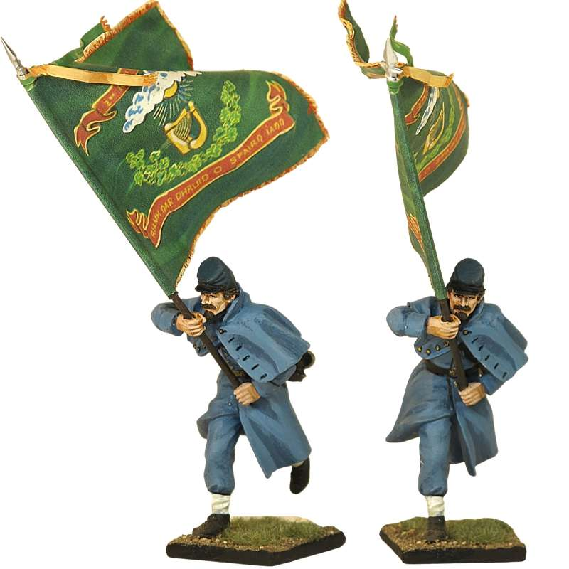 Irish brigade Standard bearer