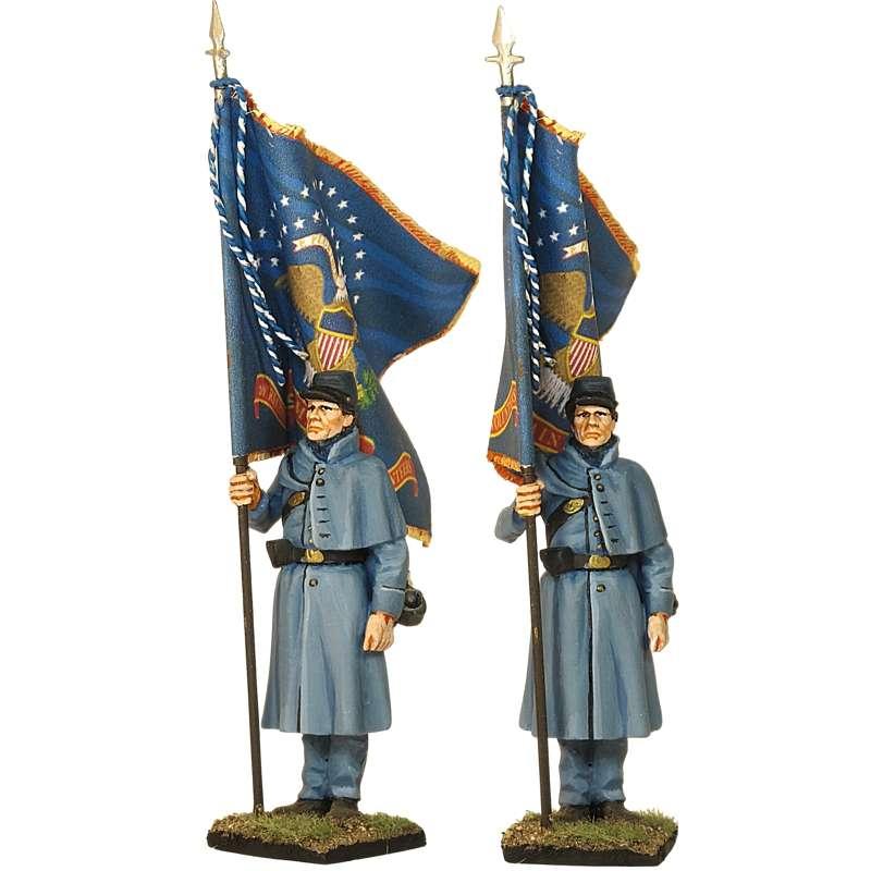 Bandera 20 th Regimiento infantería Maine Fredericksburg