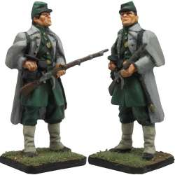 NP 385 KINGDOM OF NAPOLES ROYAL GUARD GRENADIERS OFFICER