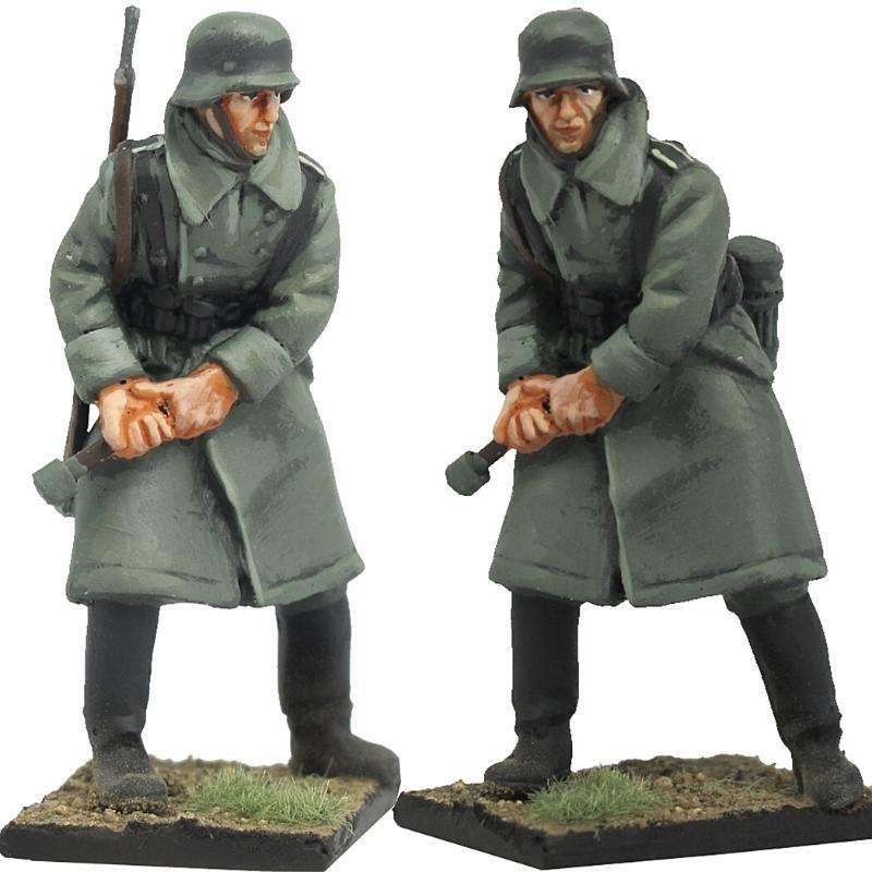 Granadero Wehrmacht invierno