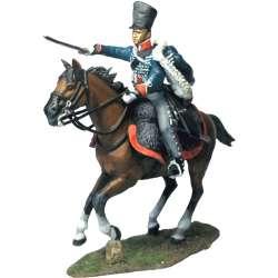 Regimento húsares de Brandenburgo 1814 soldado