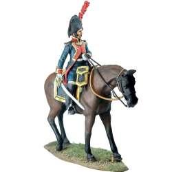 Tercio de Texas 1808 oficial montado