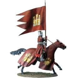 Castillean King flag bearer