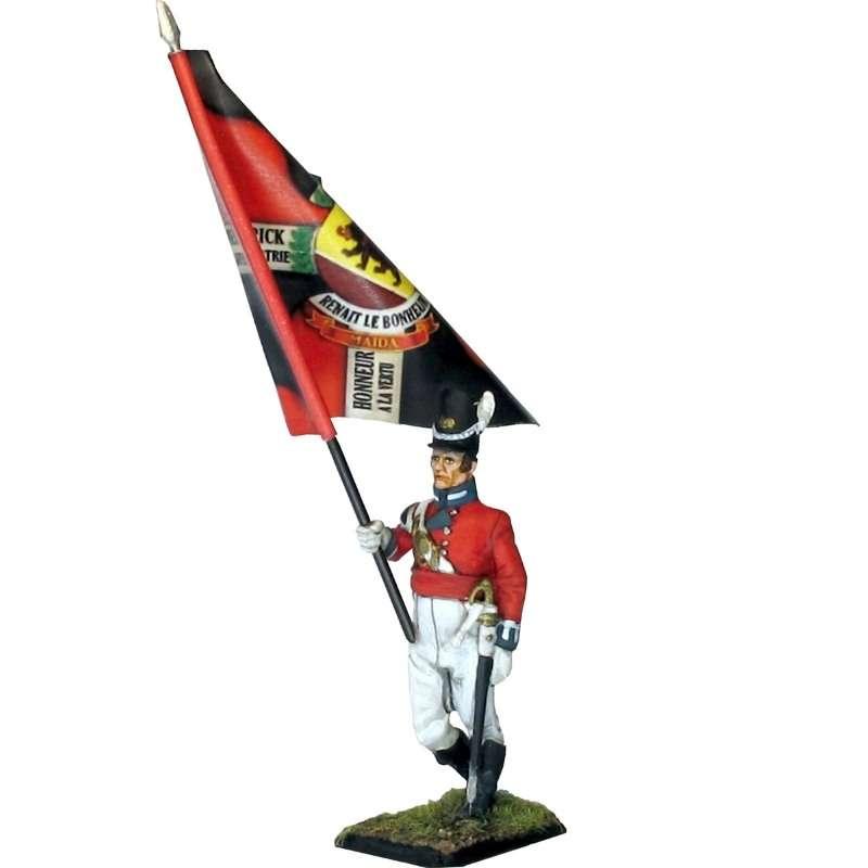 Bandera Regimiento de Watteville Canada 1813