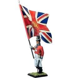 Regiment de Watteville Canada 1813 standard bearer King´s Color