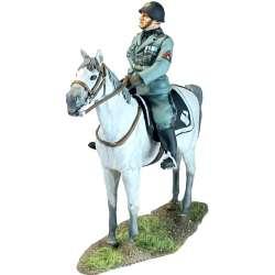 Benito Mussolini a caballo