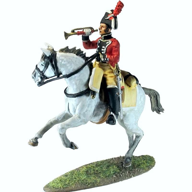 Numancia dragoons trumpeter 1808