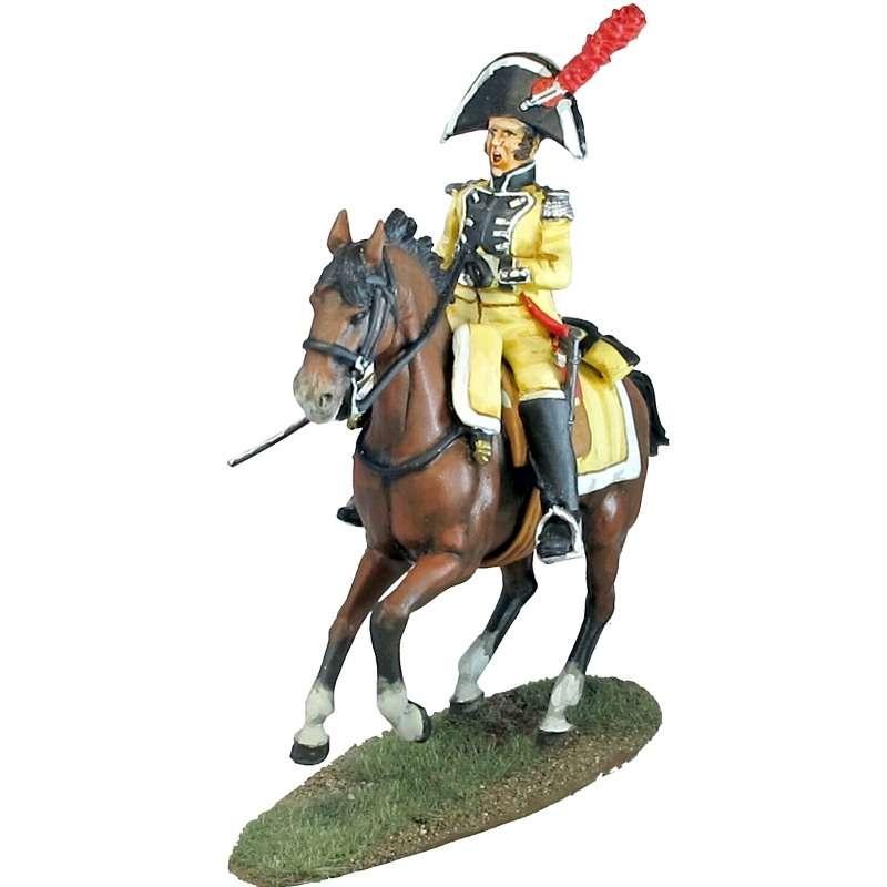 Numancia dragoons officer 1808