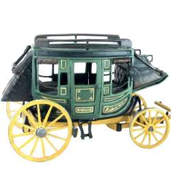 Green stagecoach