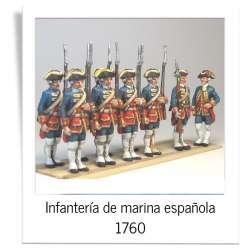 Infantería de marina española 1760