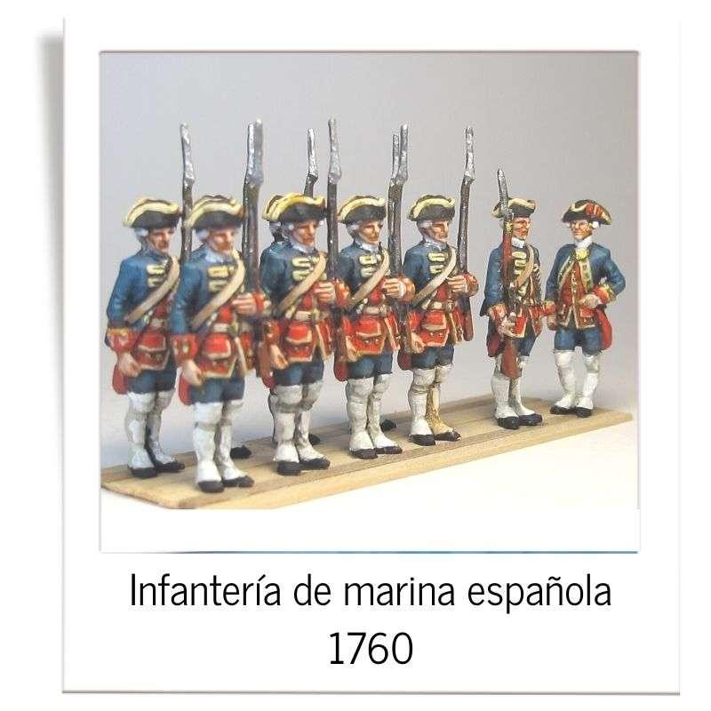 Spanish marines 1760