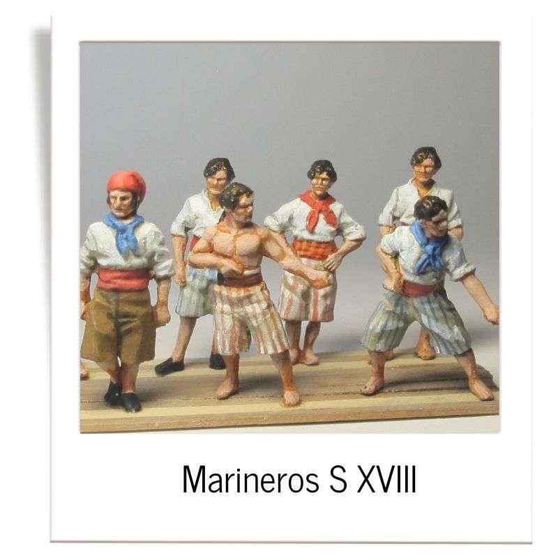 18th century sailors