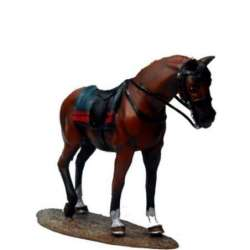 W 027 US cavalry horse toy soldier