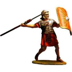 PR 009 toy soldier legionary throwing pilum