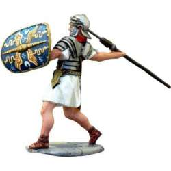 Vitelius praetorian guard throwing pilum