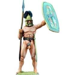 Guerrero galo desnudo
